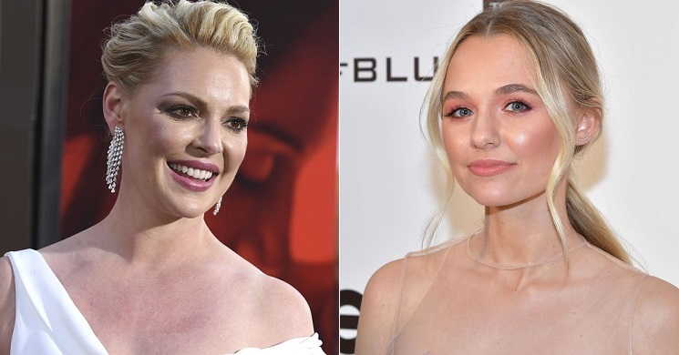 Katherine Heigl e Madison Iseman no filme I Saw a Man with Yellow Eyes