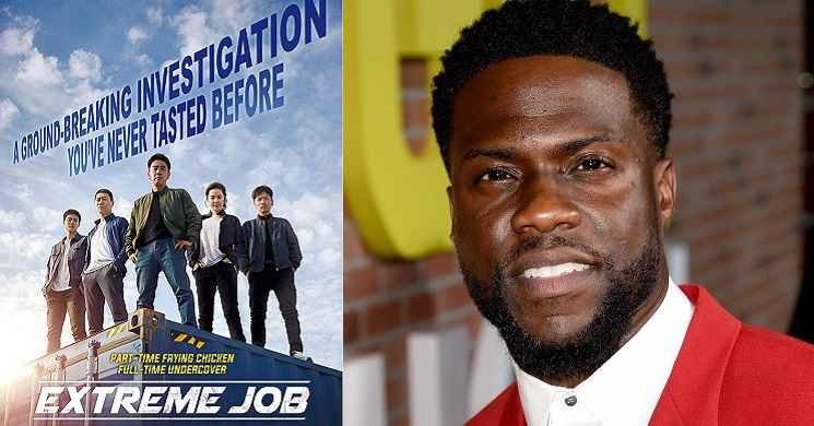 Kevin Hart vai protagonizar o remake do filme Extreme Job
