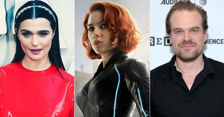 Rachel Weisz e David Harbour juntaram-se a Scarlett Johansson no elenco de