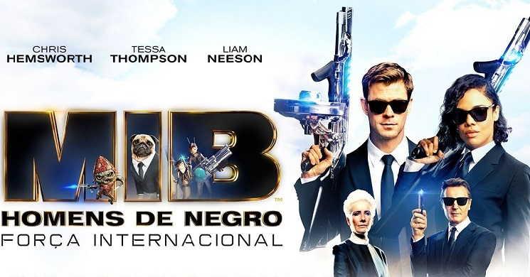 Trailer português do fime MIB - Homens de Negro: Força Internacional