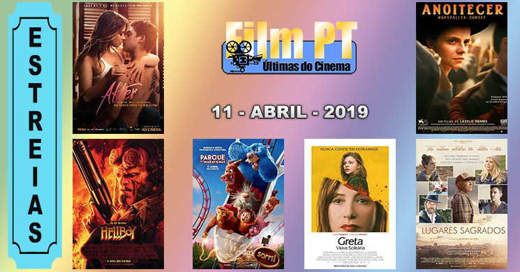 Estreias de filmes nos cinemas portugueses: 11 de abril de 2019