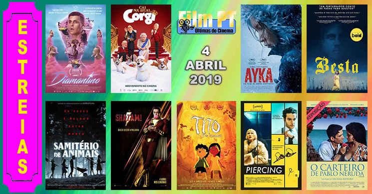 Estreias de filmes nos cinemas portugueses: 4 de abril de 2019