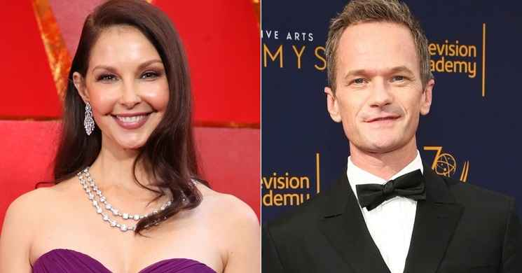 Ashley Judd e Neil Patrick Harris serão os protagonista da cinebiografia