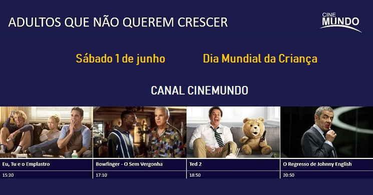 Especial Canal Cinemundo Adultos que não Sabem Crescer
