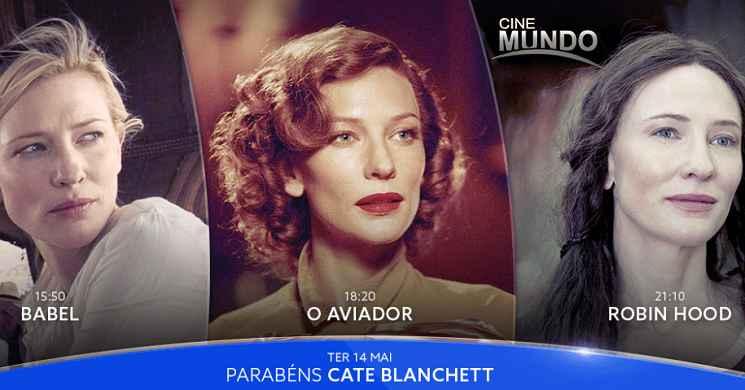 Especial 50º. aniversário Cate Blanchett: Três filmes para festejar hoje com a atriz no Canal Cinemundo