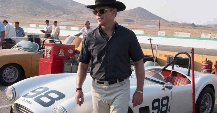 Christian Bale e Matt Damon nas primeiras imagens do filme