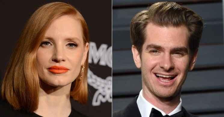 Jessica Chastain e Andrew Garfield serão os protagonista do filme biográfico