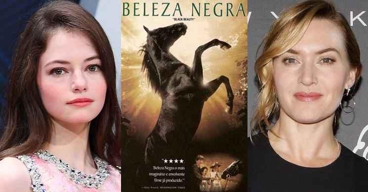 Mackenzie Foy e Kate Winslet protagonistas do filme Beleza Negra