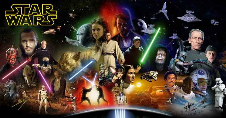 Mais tres filmes da saga Star Wars