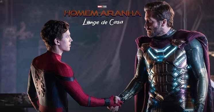 Novo trailer português de Homem-Aranha: Longe de Casa