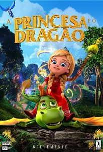 Poster do filme A Princesa e o Dragão