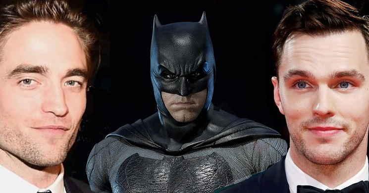 Robert Pattinson e Nicholas Hoult em testes para decidir quem será o novo Batman