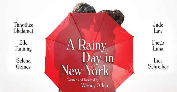 Traile e poster do filme A Rainy Day in New York