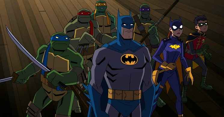 Trailer oficial do filme Batman vs Teenage Mutant Ninja Turtles