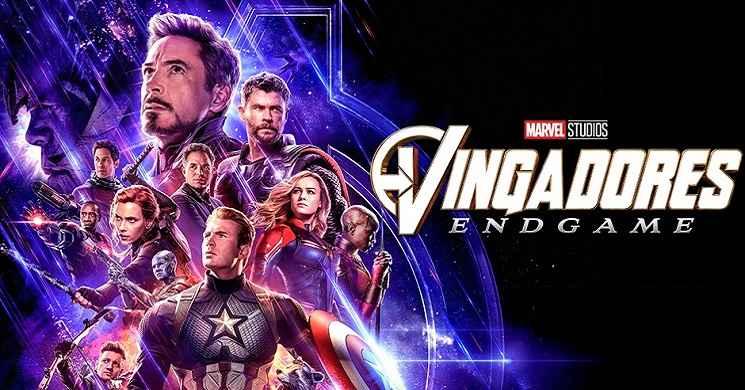 Vingadores Endgame o segundo filme mais rentavel de sempre