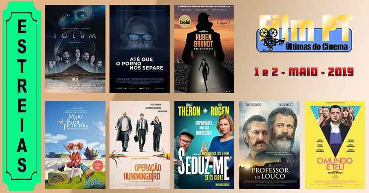 Estreias de filmes nos cinemas portugueses: 1 e 2 de maio de 2019