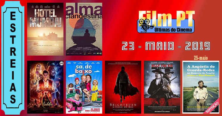 Estreias de filmes nos cinemas portugueses: 23 de maio de 2019