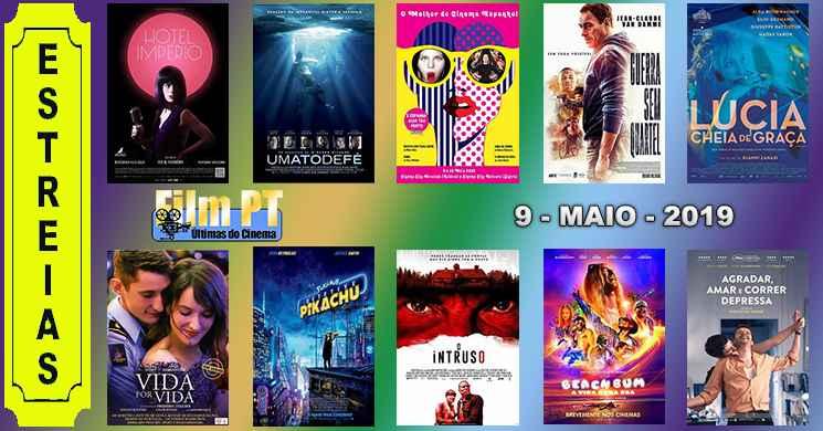 Estreias de filmes nos cinemas portugueses: 9 de maio de 2019