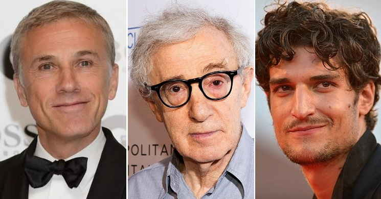 Christoph Waltz e Louis Garrel confirmados no elenco do novo filme de Woody Allen