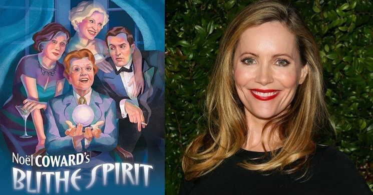 Leslie Mann no elenco do filme Blithe Spirit