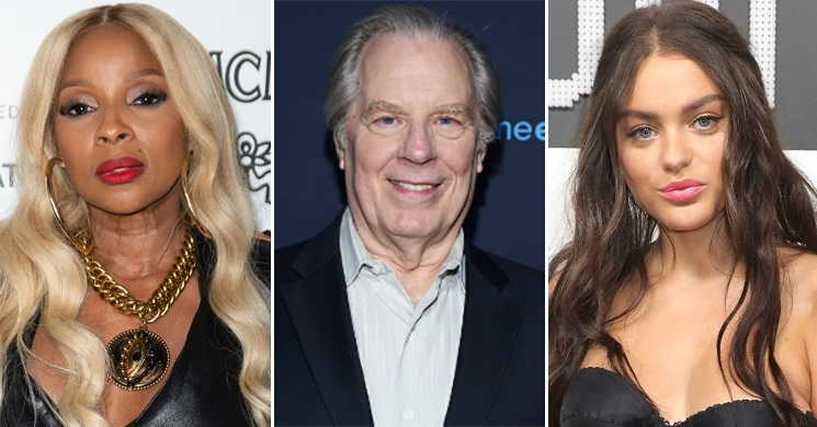 Mary J. Blige Michael McKean e Odeya Rush no elenco do drama Pink Skies Ahead