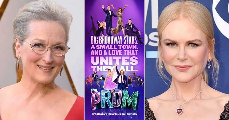 Meryl Streep e Nicole Kidman fazem parte do luxuoso elenco da adaptação do musical