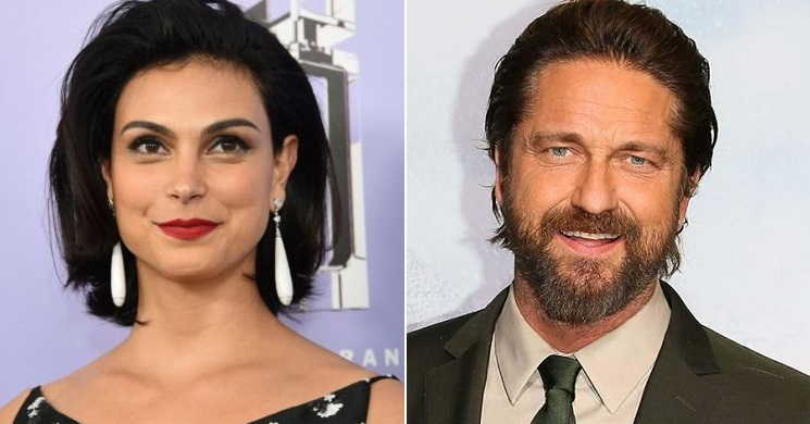 Morena Baccarin e Gerard Butler no elenco do thriller Greenland