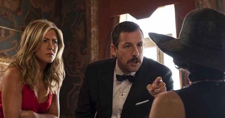 Murder Mistery melhor estreia da Netflix