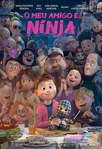 Poster do filme O Meu Amigo é Ninja