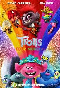 Poster do filme Trolls tour Mundial