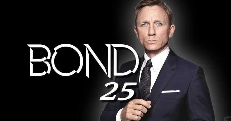 Primeiro vislumbre das filmagens de Bond 25