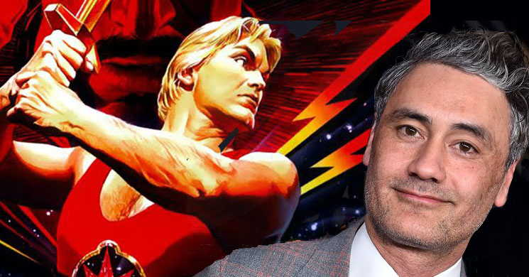 Taika Waititi contratado para desenvolver um filme animado de Flash Gordon