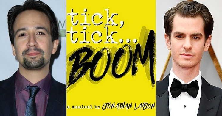 Tick,Tick... Boom de Lin-Manuel Miranda com Andrew Garfield