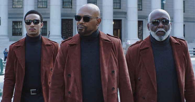 Samuel L. Jackson e Jessie T. Usher em ação no trailer português de