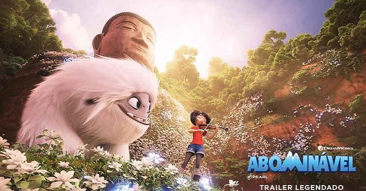 A aventura épica de uma garota e um Yeti. Trailer português da animação
