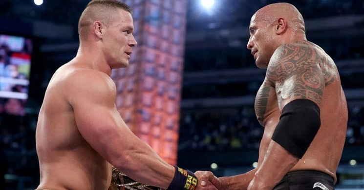 Velocidade Furiosa 9 John Cena e Dwayne Johnson