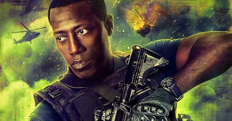 Wesley Sniper vai produzie e protagonizar o filme Outbreak Z