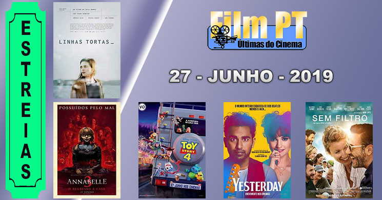 Estreias de filmes nos cinemas portugueses: 27 de junho de 2019