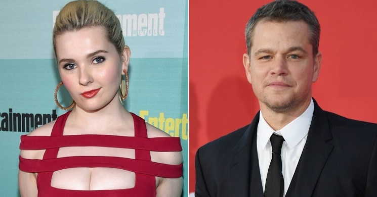 Abigail Breslin vai ser filha do personagem de Matt Damon no drama