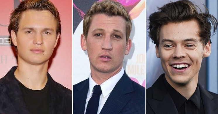 Ansel Elgort, Miles Teller e Harry Styles estão entre os candidatos para interpretar Elvis Presley
