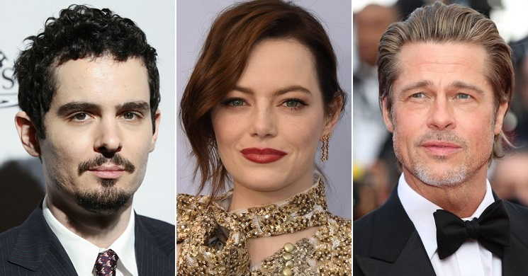 Babylon - Filme de Damien Chazelle pode ter no elenco Emma Stone e Brad Pitt