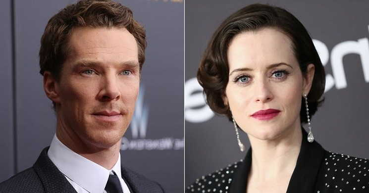 Benedict Cumberbatch e Claire Foy serão os protagonistas do filme biográfico