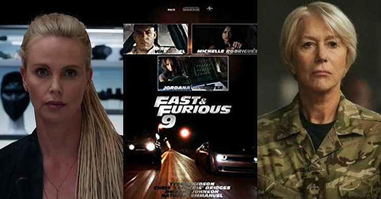 Charlize Theron e Helen Mirren no elenco do filme Velocidade Furiosa 9