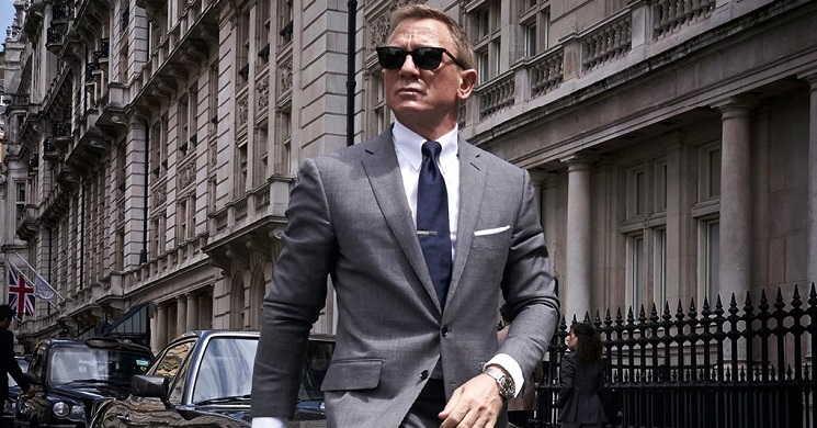 Daniel Craig em novas imagens do filme Bond 25