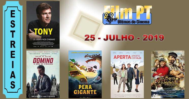 Estreias de filmes nos cinemas portugueses: 25 de julho de 2019