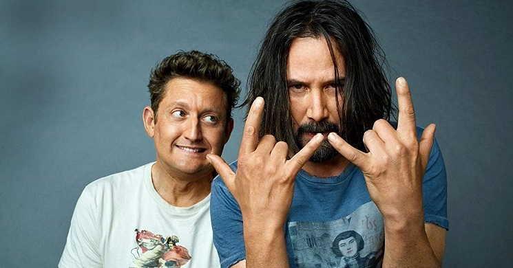 Keanu Reeves e Alex Winters estão de regresso nas primeiras imagens de