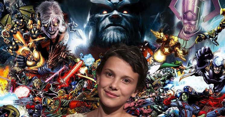 Millie Bobby Brown confirmada no elenco do filme de super-heróis