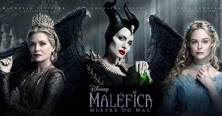 Novo trailer português do filme Maléfica: Mestre do Mal