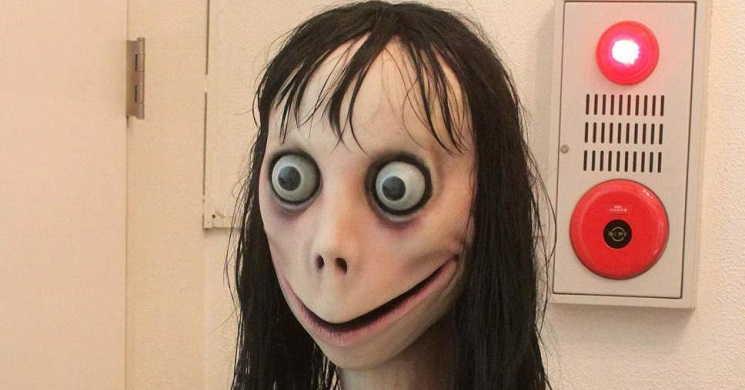 Personagem viral Momo vai ser adaptada num filme de terror