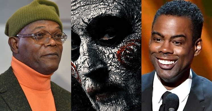 Samuel L. Jackson e Chris Rock e Chris Rock no novo filme da franquia Saw
